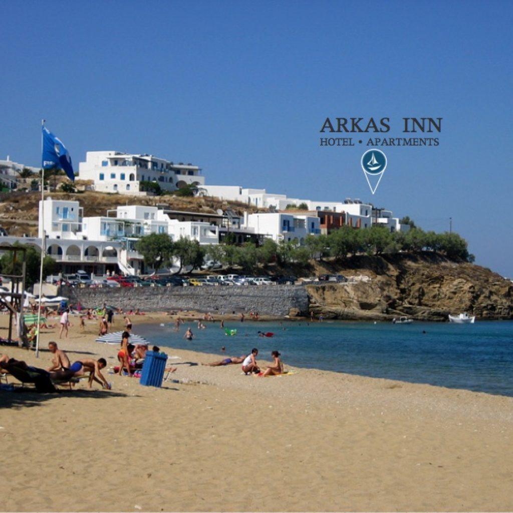 Paros Beaches: Arkas Inn Hotel